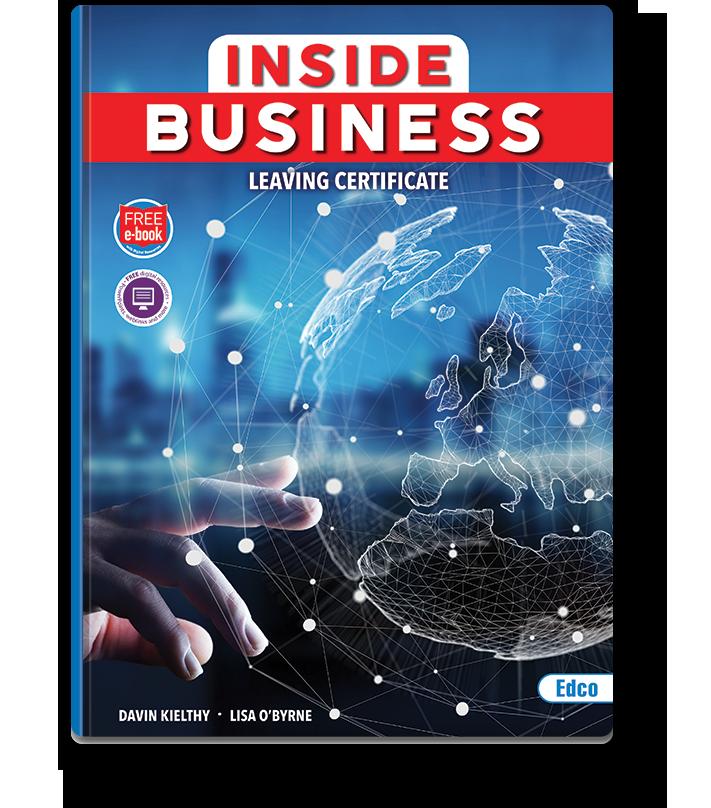 Inside Business New Leaving Certificate Edco